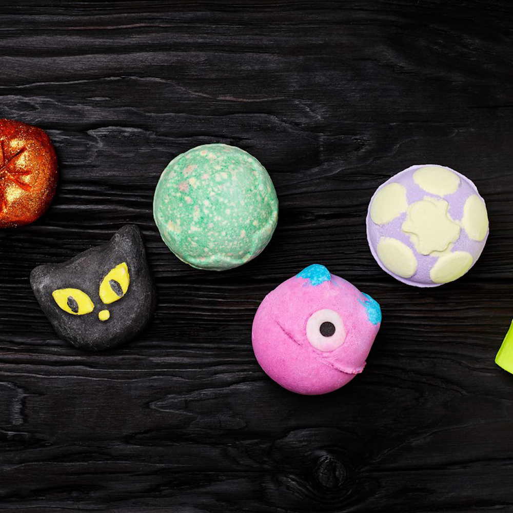 Lush's New Halloween Collection — Picture courtesy of Lush