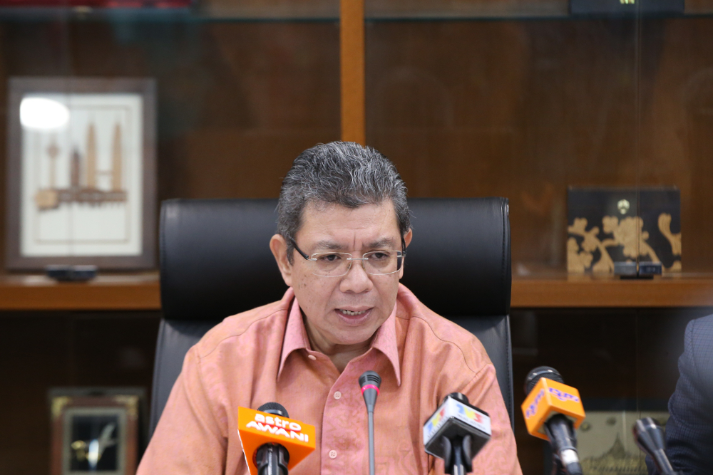 Datuk Saifuddin Abdullah told Malay Mail that he was in the dark over the new policy, and has promised a swift investigation into the matter. — Picture by Azinuddin Ghazali