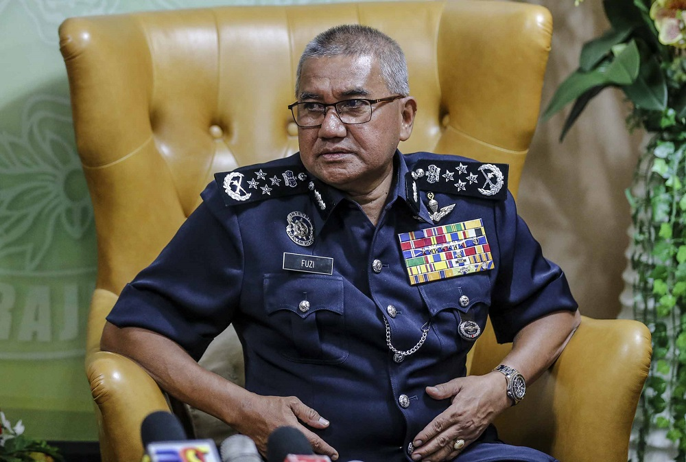 Fuzi said the mission was made possible with cooperation from Turkey's National Intelligence Organisation which constantly exchanged and shared information with the Malaysian police. — Picture by Firdaus Latif