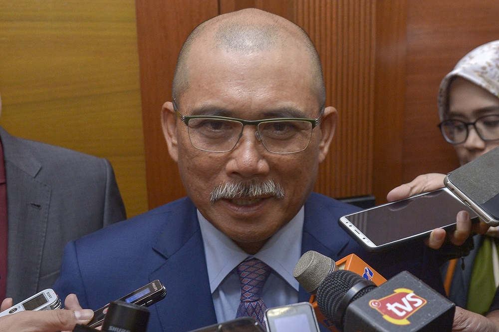 PAC chairman Datuk Seri Ronald Kiandee said the inquiry has been shelved for the time being, without disclosing the reason for the delay. — Picture by Mukhriz Hazim