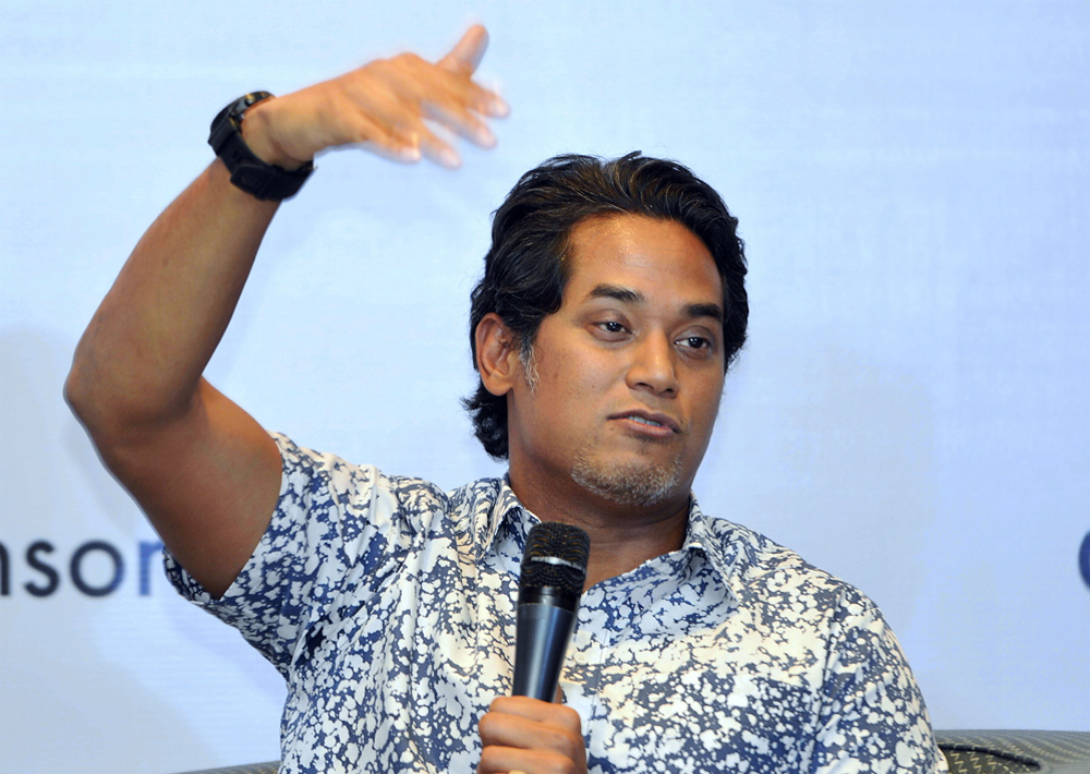 Khairy Jamaluddin said today he was not aware of the possibility that up to 40 Umno MPs are planning to hop into PPBM. — Picture by Ham Abu Bakar