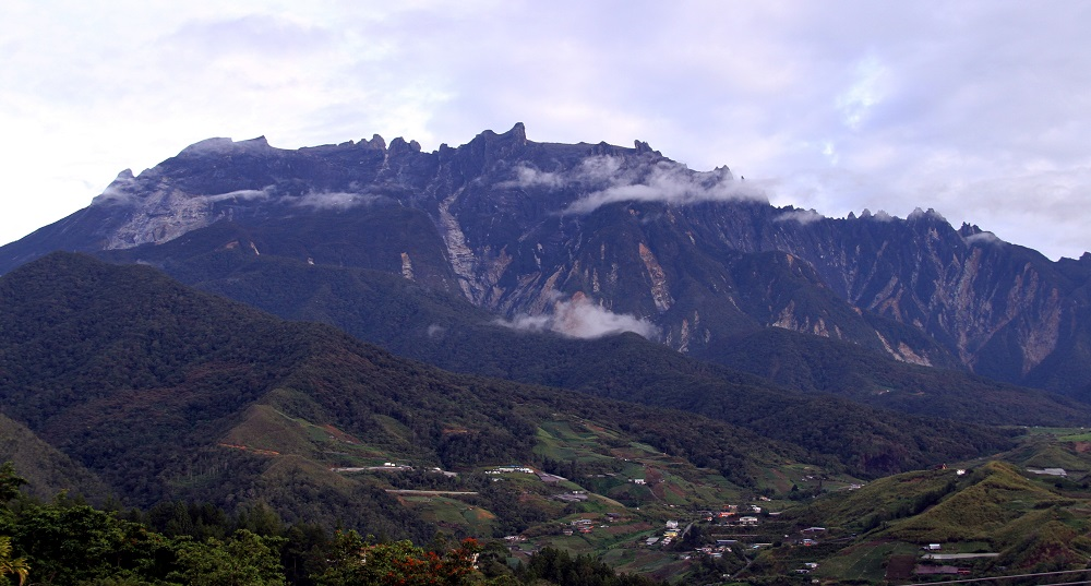 Mount Kinabalu, the highest peak in Malaysia with an elevation of 4,095m, is seen in this file picture. — Bernama pic