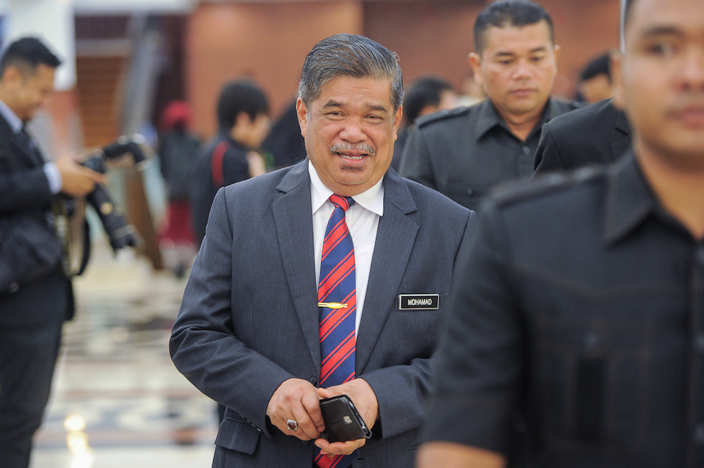 Defence Minister Mohamad Sabu reminded Muslims in Malaysia to be cautious and not to be easily swayed by racial and religious sentiments being played up by supporters of the former government.  — Picture by Shafwan Zaidon
