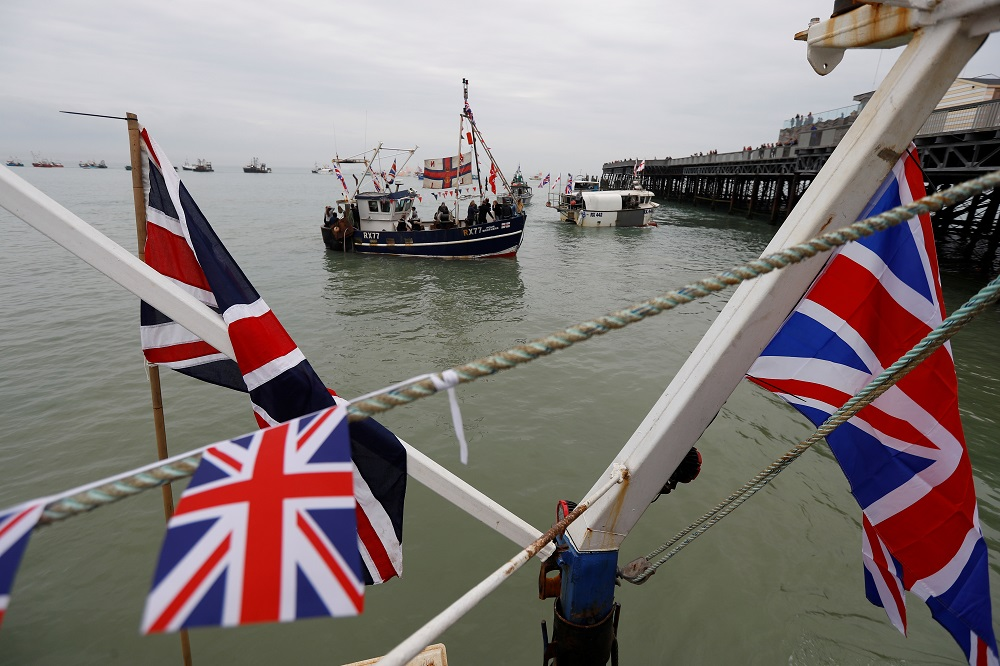 EU and British negotiators remained in Brussels, with talks still blocked over the right of European crew to continue fishing in Britain's rich waters. — Reuters  pic