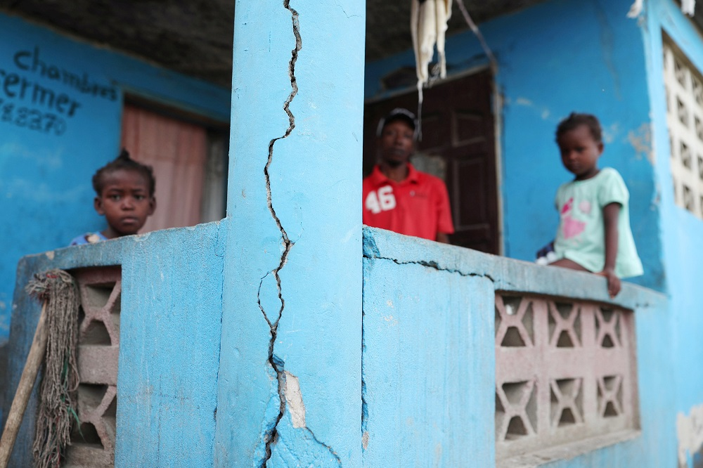 Much of the problem goes back to the devastating earthquake that hit Haiti in 2010, which left more than 250,000 people dead and largely demolished the capital city, Port-au-Prince. — Reuters pic