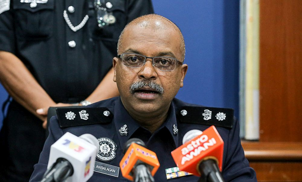 Southwest district police chief Supt AA Anbalagan said those arrested, aged between 14 and 30, were to facilitate further investigation as well as for documentation. — Picture by Sayuti Zainudin