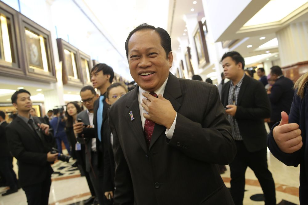 Datuk Seri Ahmad Maslan said the cancellation of the East Coast Rail Link (ECRL) and the Sabah gas pipeline projects contributed to the strained ties with China. ― Picture by Yusof Mat Isa