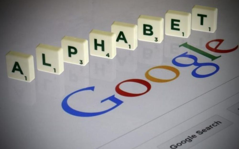 Alphabet shares were up about 4.7 per cent at US$2,398.61 in extended trading. ― Reuters pic