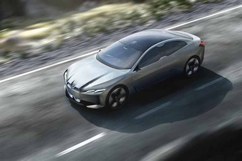 The BMW i Vision Dynamics concept. ― AFP pic
