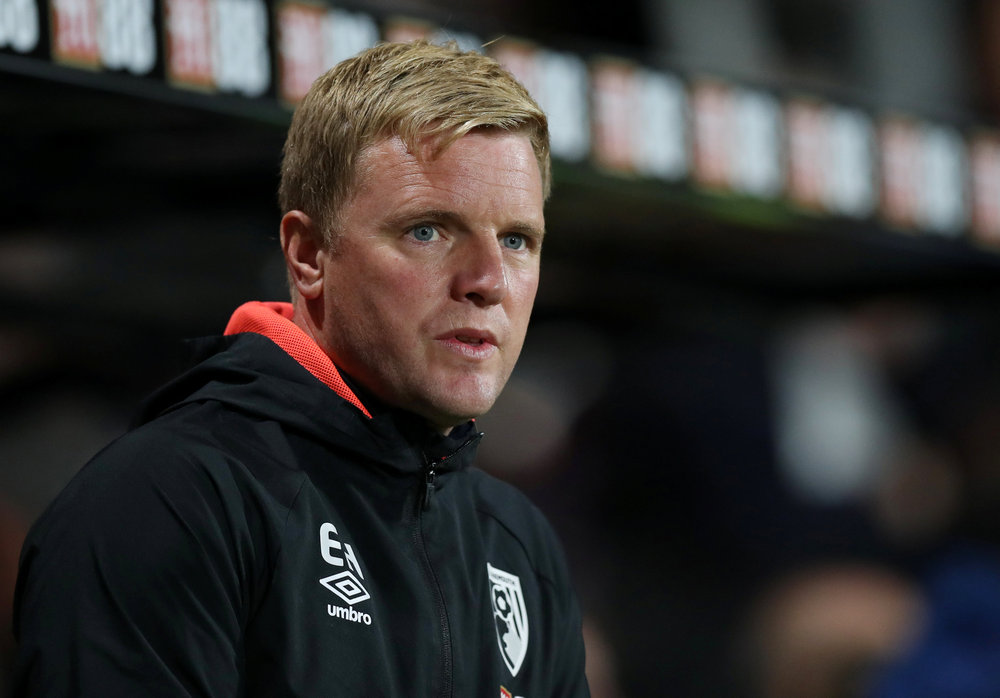 Bournemouth manager Eddie Howe agreed to take a 'significant' cut to his reported  £4 million-per-year contract to help offset the financial damage caused by the pandemic. — Reuters pic