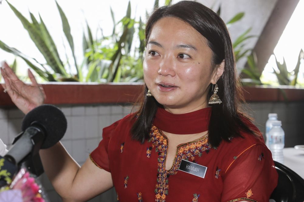 Yeoh said the ministry might consider subsidising the operational costs of childcare centres in order to encourage them to register. — Picture by Hari Anggara