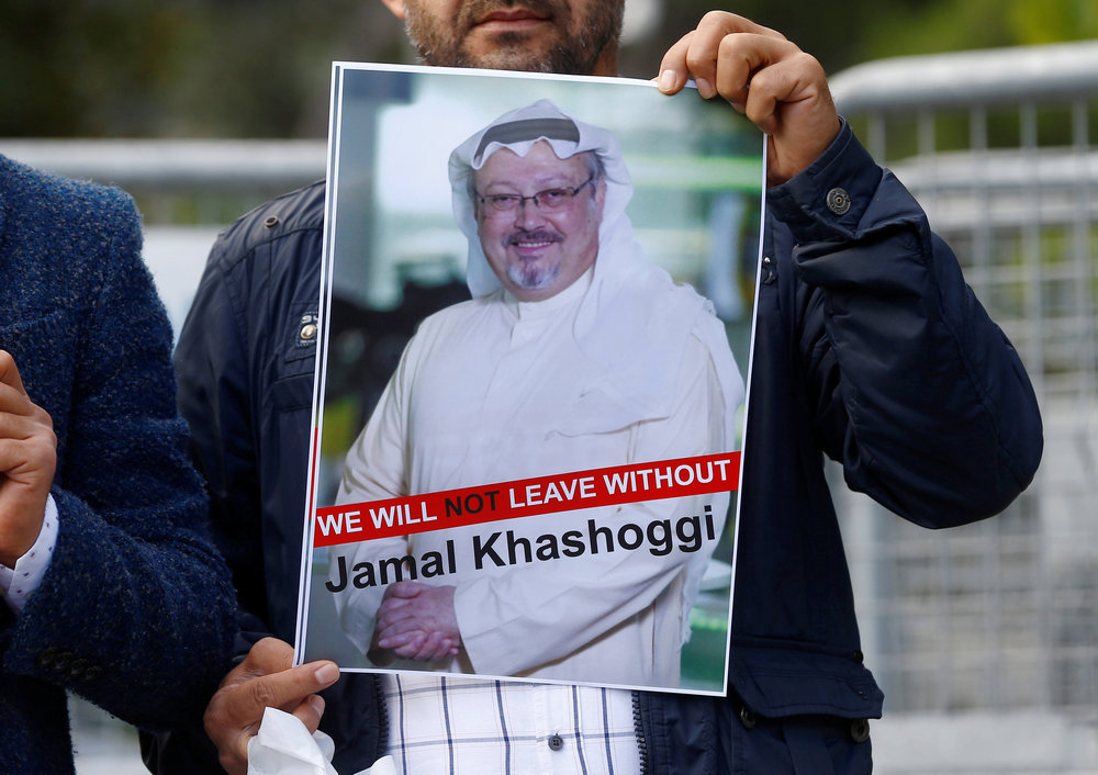 The 59-year old Khashoggi, a Saudi journalist and Washington Post columnist, was lured to the Saudi consulate in Istanbul on October 2, 2018, and killed by a team of operatives linked to the crown prince. They then dismembered his body. His remains have never been found. — Reuters pic