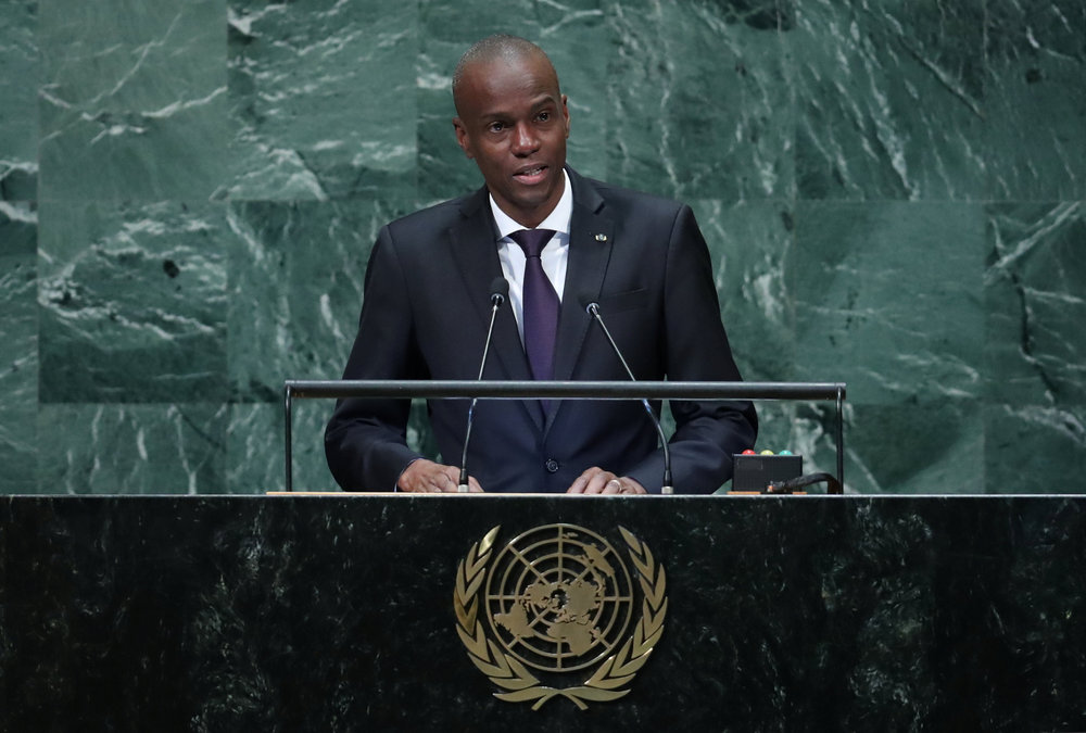 Details of Jovenel Moise's (pic) assassination remain unclear, but newly installed Prime Minister Ariel Henry has promised to bring the killers to justice. — Reuters pic