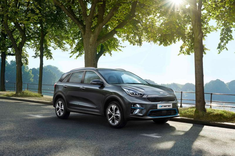 The fully-electric Kia e-Niro will be on sale in select European markets by the end of this year. ― AFP pic