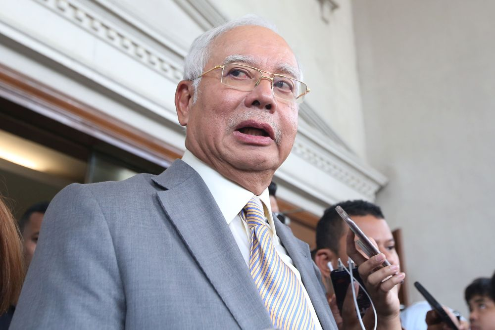 Najib has repeatedly claimed that his relationship with Low was strictly professional and was forged with the country's economic interests in mind. — Picture by Azinuddin Ghazali