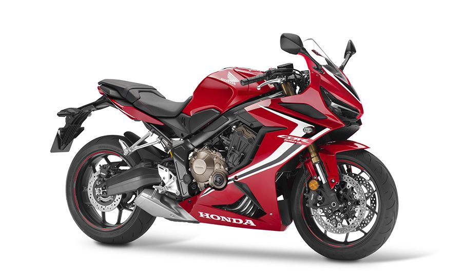 The CBR650R, one of the two new models in the 2019 European motorcycle lineup. — Picture courtesy of Honda