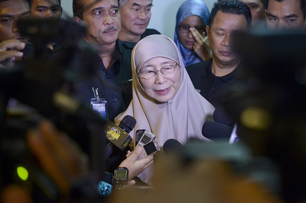 The DPM rejected comparisons with female circumcision as practised elsewhere. — Picture by Mukhriz Hazim