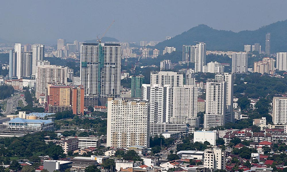 The residential market in Penang is expected to improve especially in the landed housing sector. — Picture by Sayuti Zainudin