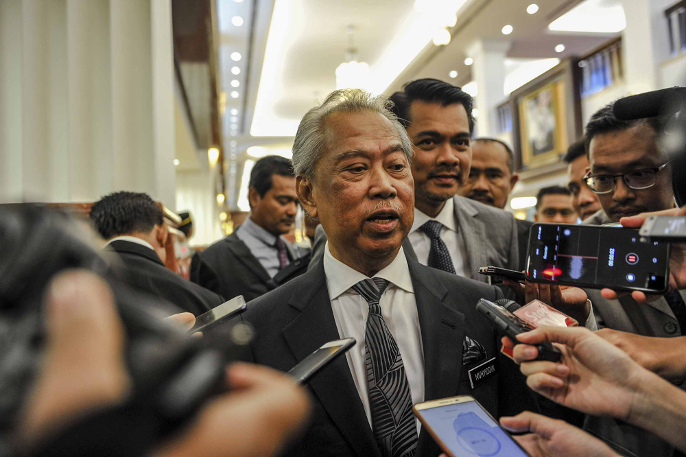 Muhyiddin added that formulating a replacement system will be a priority for his ministry. — Picture by Firdaus Latif