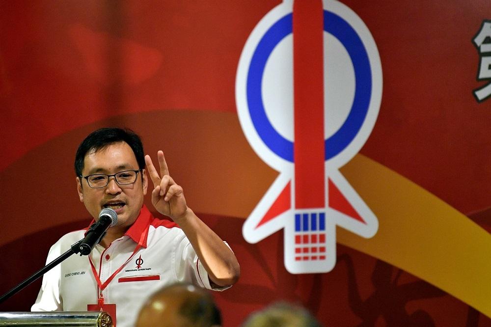 张健仁说,砂州行动党愿意为了国家利益,而与砂拉越政党联盟(GPS)协商合作。-马新社-