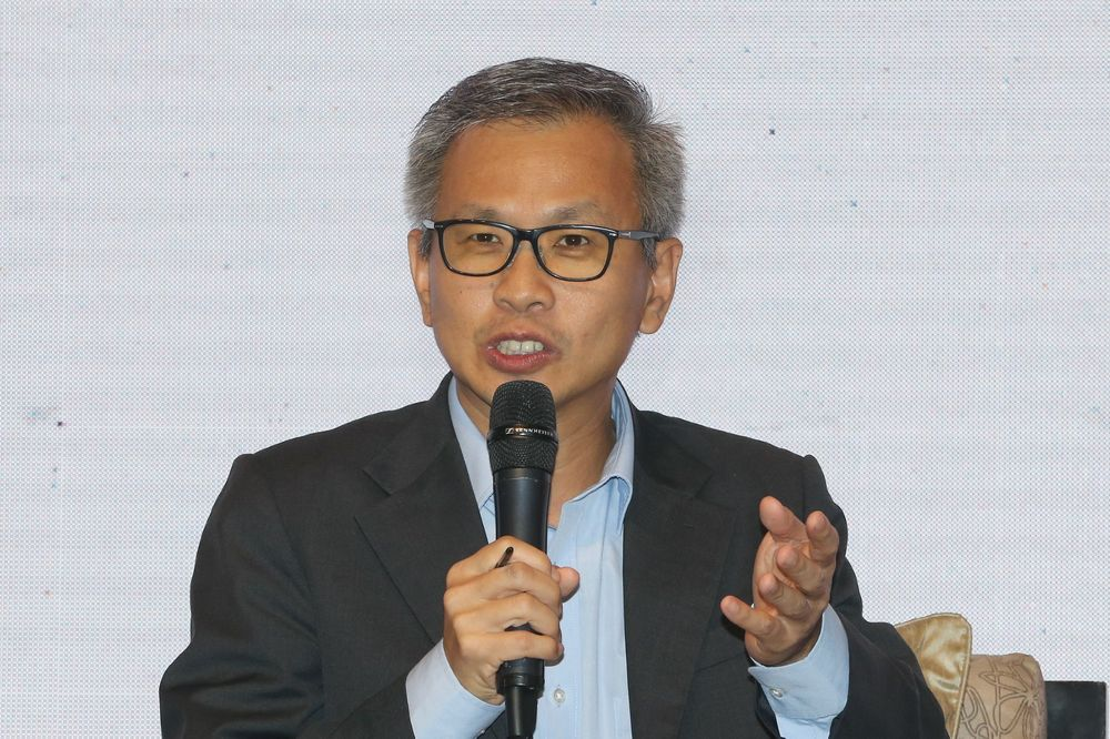 Damansara MP Tony Pua lost the Selangor DAP chairmanship to Puchong MP and Communications and Multimedia minister Gobind Singh Deo. — Picture by Razak Ghazali