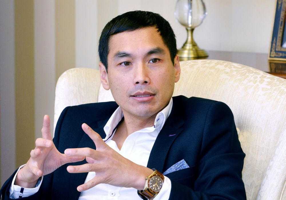MUI Chief Executive Officer Andrew Khoo Boo Yeow says the group will focus on the four core businesses ― retail, hospitality and property and food. ― Picture by Ham Abu Bakar