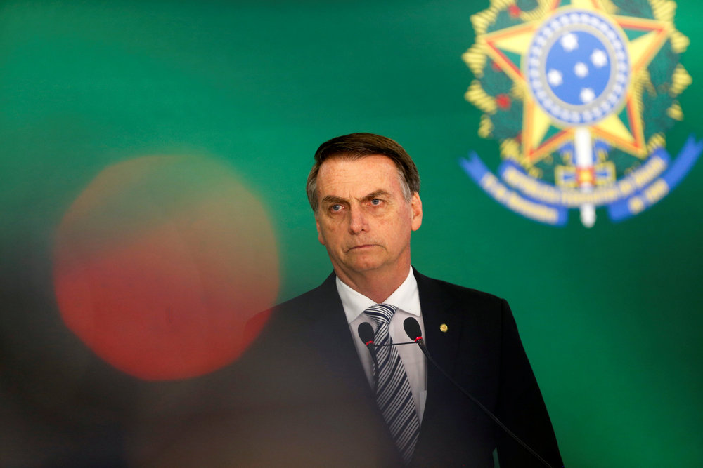 Since assuming the presidency, Bolsonaro has embarked on an ideological campaign to promote his ultraconservative ideas and values, and to erase any trace of the 2003-2016 leftwing government Brazil had. — Reuters pic