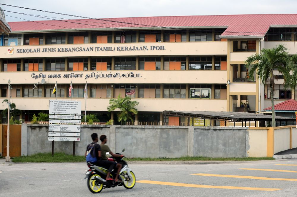 A general view of Sekolah Jenis Kebangsaan (Tamil) Kerajaan in Ipoh November 2, 2018. Datuk Seri M Saravanan who is also MIC vice-president was responding to the Indian communities' expression of discontent and has threatened to withdraw their support for the government.  — Picture by Farhan Najib