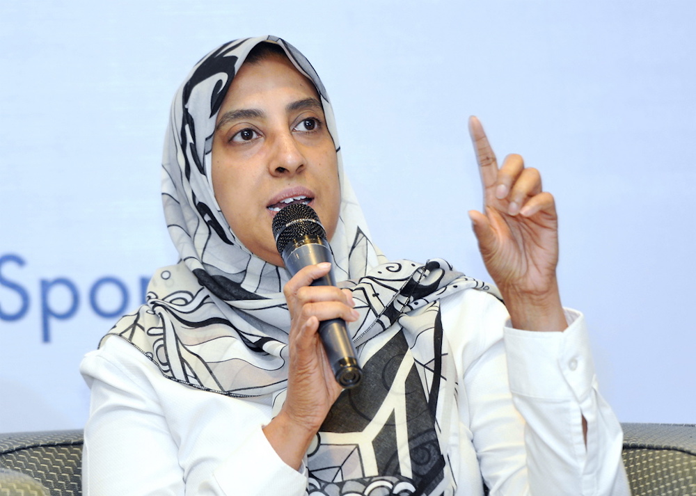 Datuk Seri Mohd Shukri Abdull says he has trust in Latheefa (pic) to lead the MACC well and carry out her duties for the country. — Picture by Ham Abu Bakar