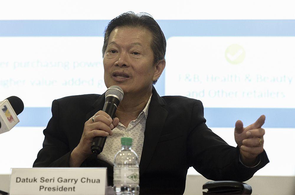 MRCA president Datuk Seri Garry Chua speaks during a press conference in Subang Jaya November 27, 2018. ― Picture by Miera Zulyana