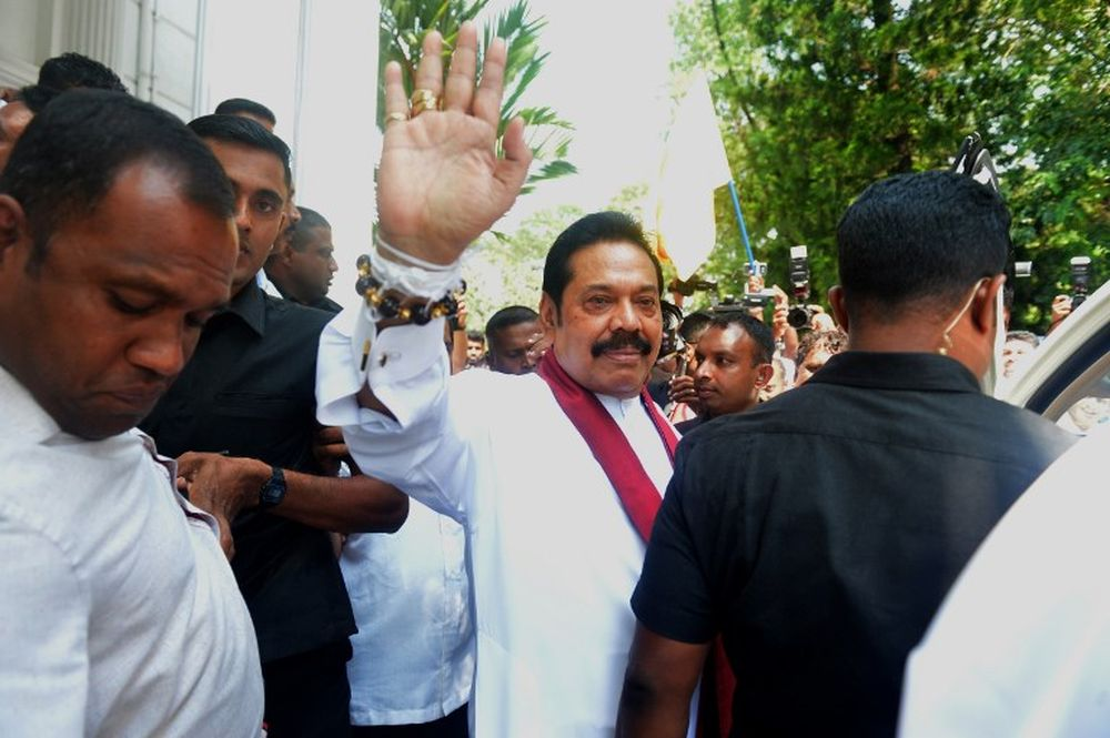 Much of the leaked conversations suggested political interference in cases against senior members of former president Mahinda Rajapaksa's administration between 2005 and 2015. — AFP pic