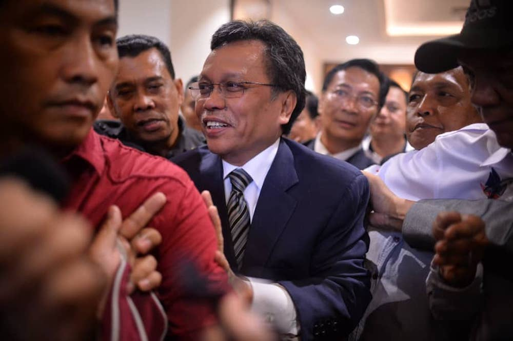 Sabah Chief Minister Datuk Seri Shafie Apdal said Malaysia could also consider processing palm oil into biodiesel for fuel and power generation, as the European Union mulls banning palm oil products. — Picture by Julia Chan
