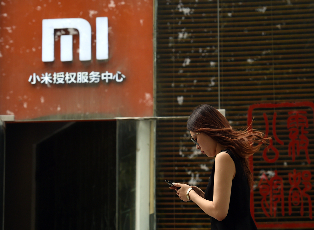 With global sales up by almost 35 per cent, Xiaomi climbs the podium of the biggest smartphone makers worldwide for the very first time, nudging Apple into fourth place. — AFP pic