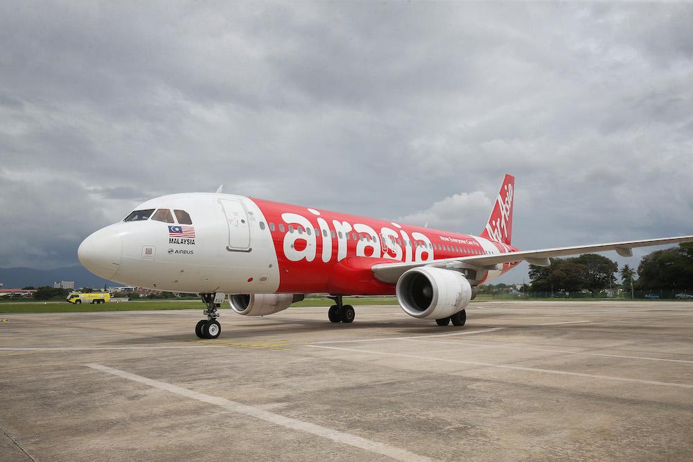 亚洲(AirAsia)被Airlineratings.com,评选为新冠病毒健康评级7星级(最高级别)的航空公司。-Marcus Pheong摄-