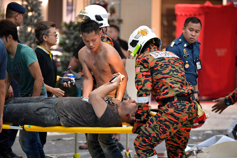 On December 4 last year, three people were killed and 41 injured following an explosion at the CityOne Megamall. — Bernama pic