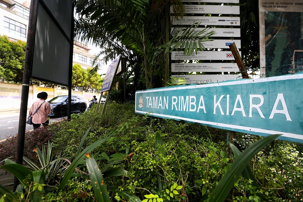 On January 27, the Court of Appeal quashed a development order for a proposed high-rise project in Taman Rimba Kiara, allowing an appeal by the residents association of the adjoining TTDI against a government decision. — Picture by Ahmad Zamzahuri
