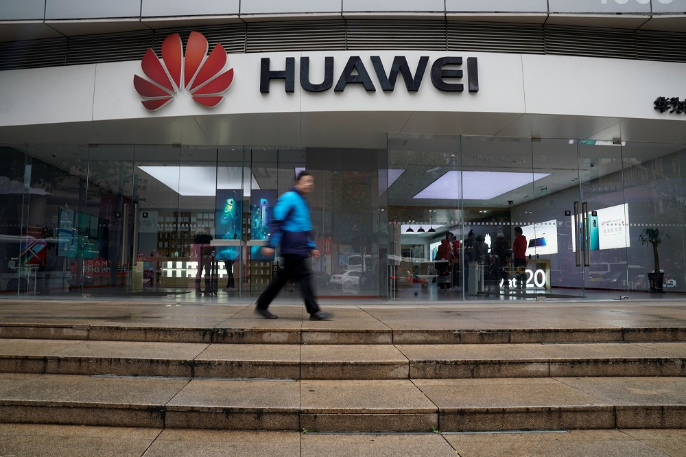 The US government last year moved to prevent most US companies from conducting business with Huawei, saying the world's biggest maker of mobile telecommunications equipment and smartphones was ultimately answerable to the Chinese government. — Reuters pic