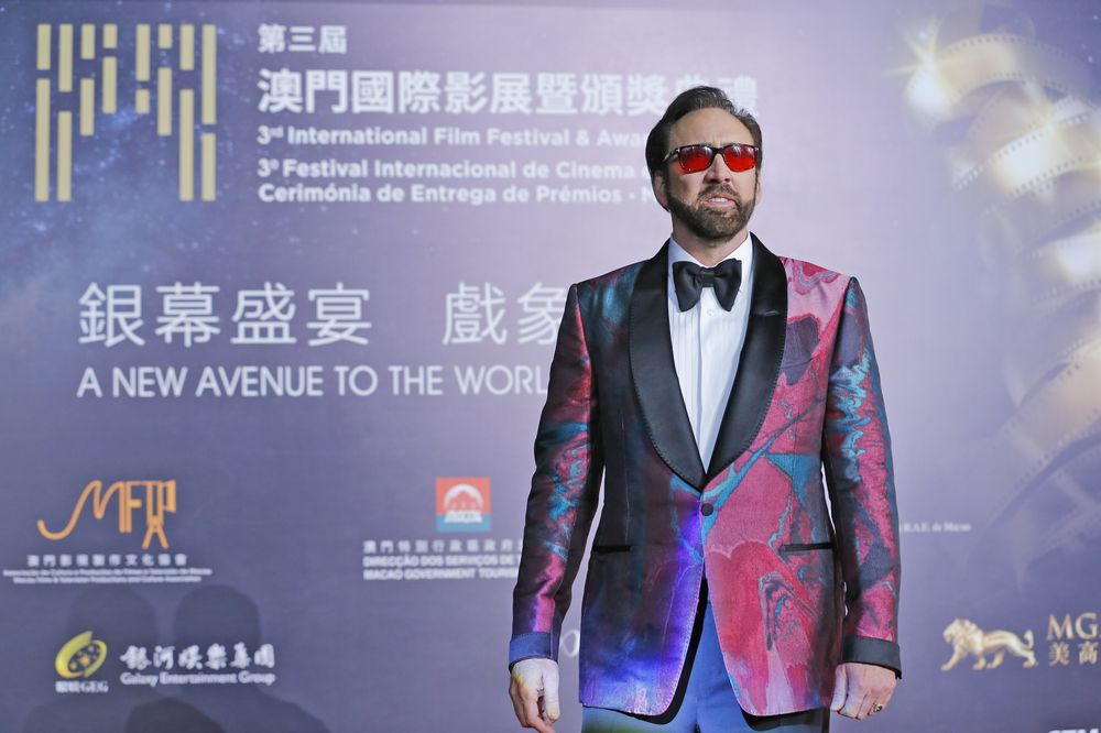 Nicolas Cage is one of the two talent ambassadors for this year's IFFAM. — Pix by IFFAM