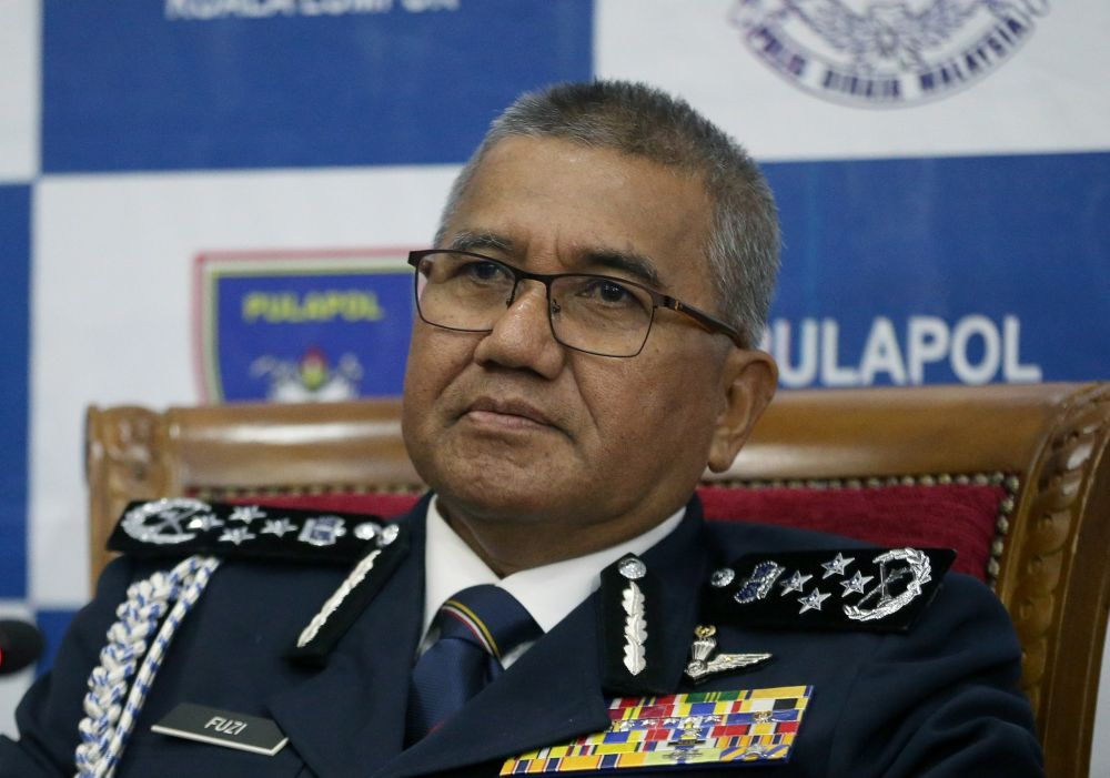 IGP Tan Sri Mohamad Fuzi Harun said the police disagreed with the move to legalise the use of marijuana products for medicinal purposes as practised in Thailand. ― Picture by Razak Ghazali