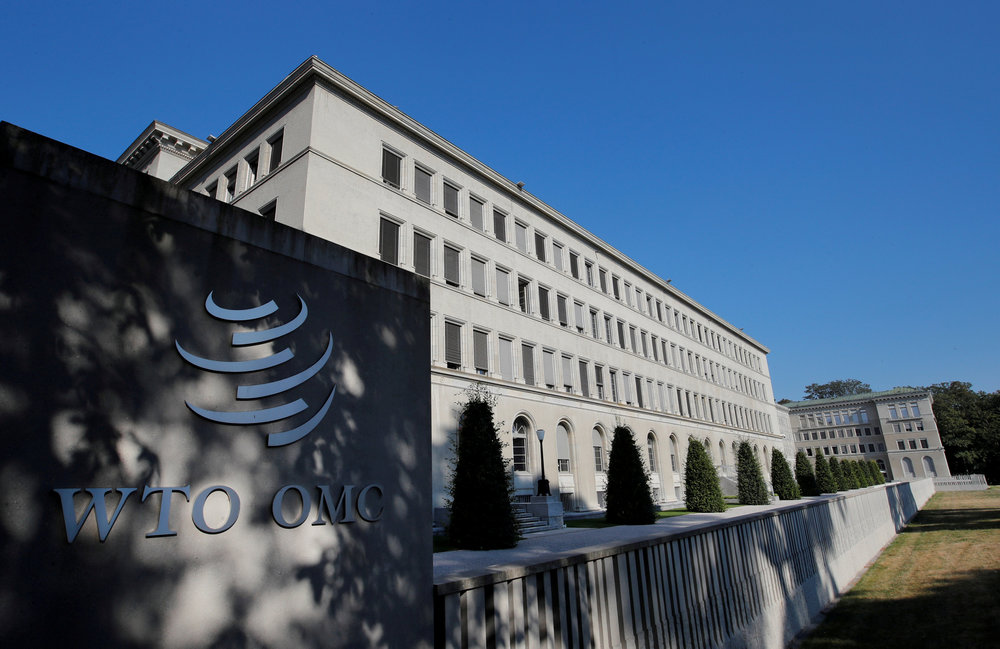 The World Trade Organisation (WTO) headquarters in Geneva, Switzerland July 26, 2018. — Reuters pic