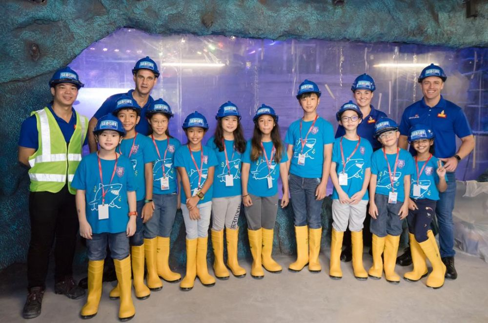 The Junior Rangers in South East Asia making their debut at Sea Life Malaysia's third milestone event on Saturday. — Picture courtesy of Legoland Malaysia