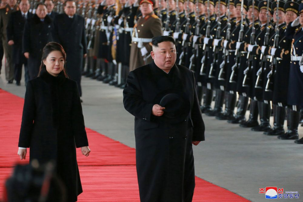 A landmark 2014 UN report on North Korean human rights concluded that North Korean security chiefs ― and possibly leader Kim Jong-un himself ― should face justice for overseeing a state-controlled system of Nazi-style atrocities. — KCNA pic via Reuters