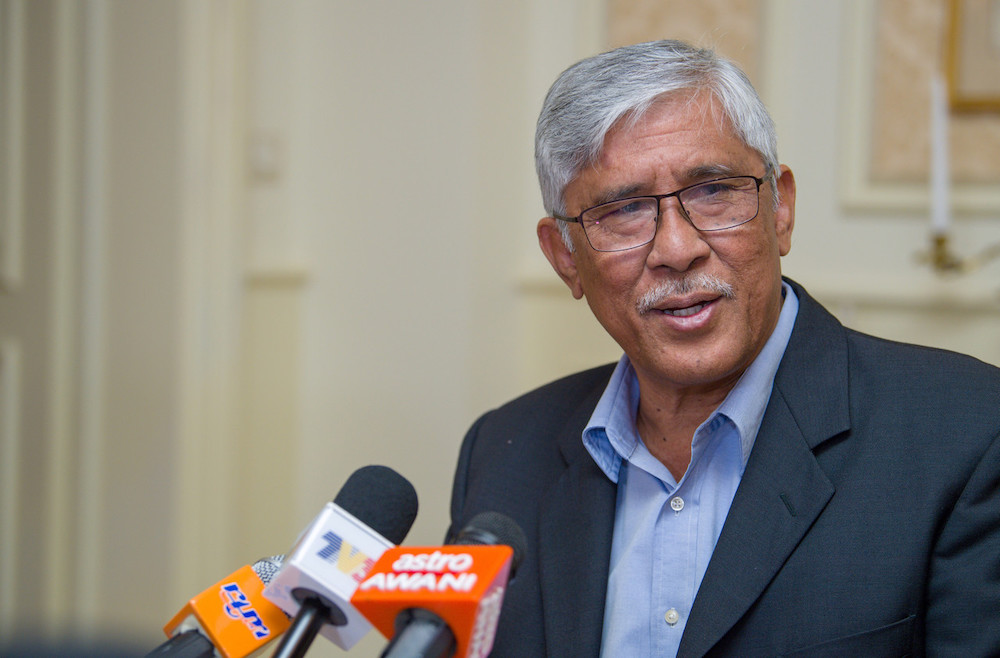 GIACC director-general Tan Sri Abu Kassim Mohamed says strong structures have been set up to fight corruption in Malaysia. — Bernama pic