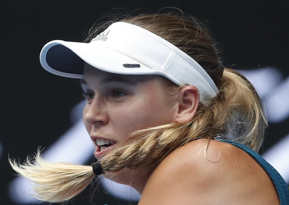 Wozniacki announced in December that she would retire from tennis to focus on other things, including starting a family with husband and former NBA star David Lee. — Reuters pic