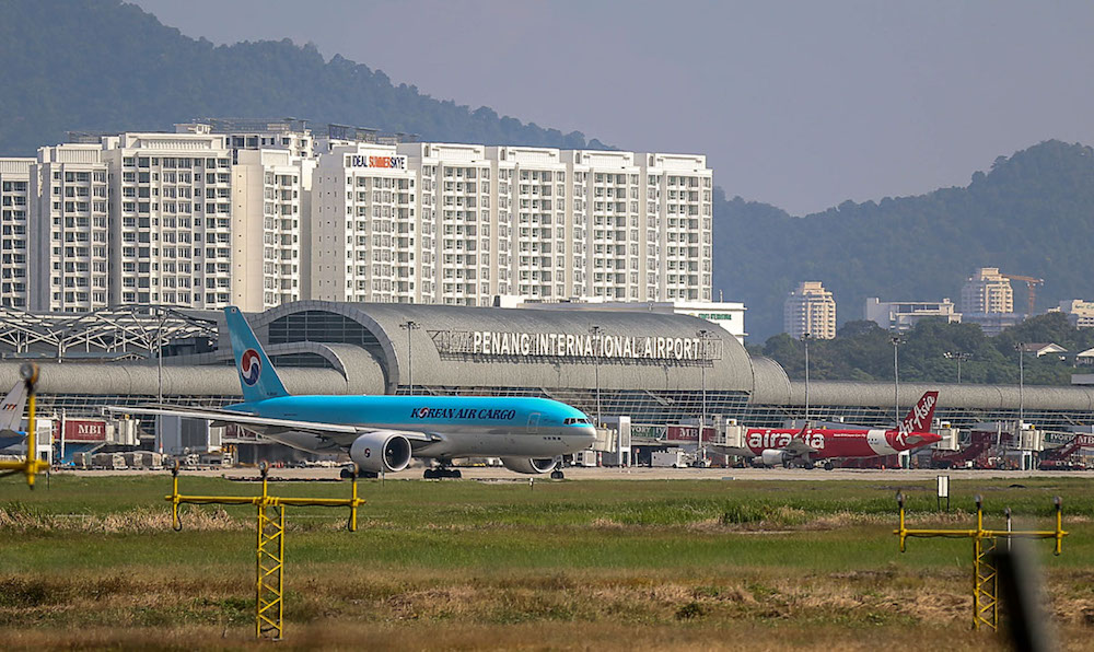A general view of the Penang International Airport January 14, 2019. — Picture by Sayuti Zainudin