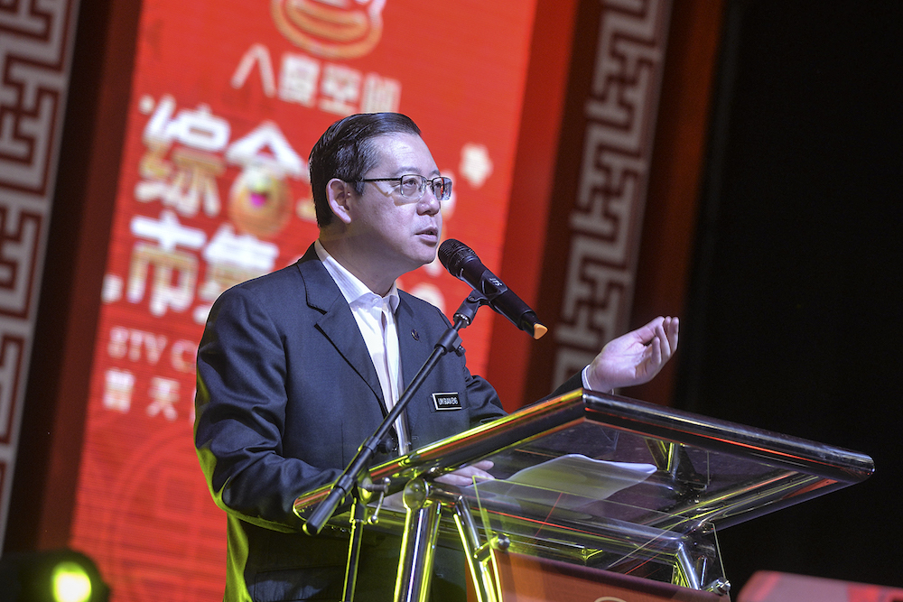 Lim said that Malaysia is heading in the right path towards having its fiscal position restored within three years, and will soon regain its position as the Asian tiger. — Picture by Shafwan Zaidon