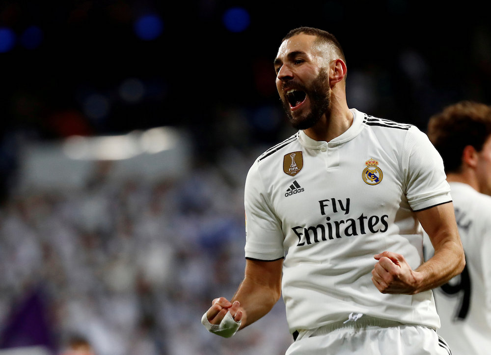 Benzema has not played for France since 2015, when he was placed under formal investigation over the attempted blackmail of Mathieu Valbuena. — Reuters pic
