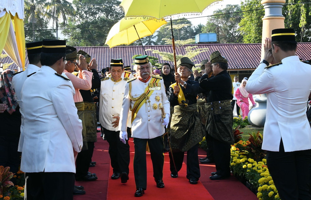 According to Tuanku Muhriz, all the people in the state should understand that the rules do not allow sacrificial rites to be performed to prevent the public from gathering during the process of slaughtering the sacrificial meat. — Bernama pic