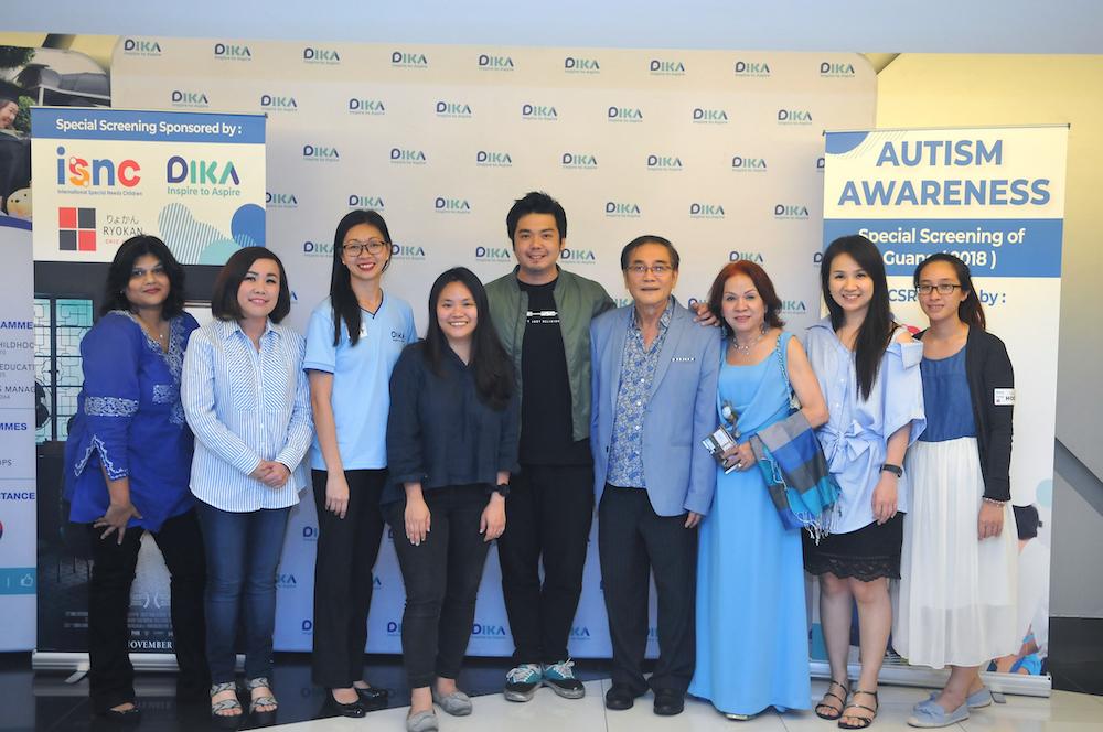 (From left) Nisha, Dika advisor Jenny Sim, ISNC co-founder Pua Chee Ling, Sabrina Wong, Kyo Chen, ISNC founder Dr Sim Quan Seng, Veronica Sim,  ISNC co-founder Low Lay Har and Tris. — Picture courtesy of ISNC