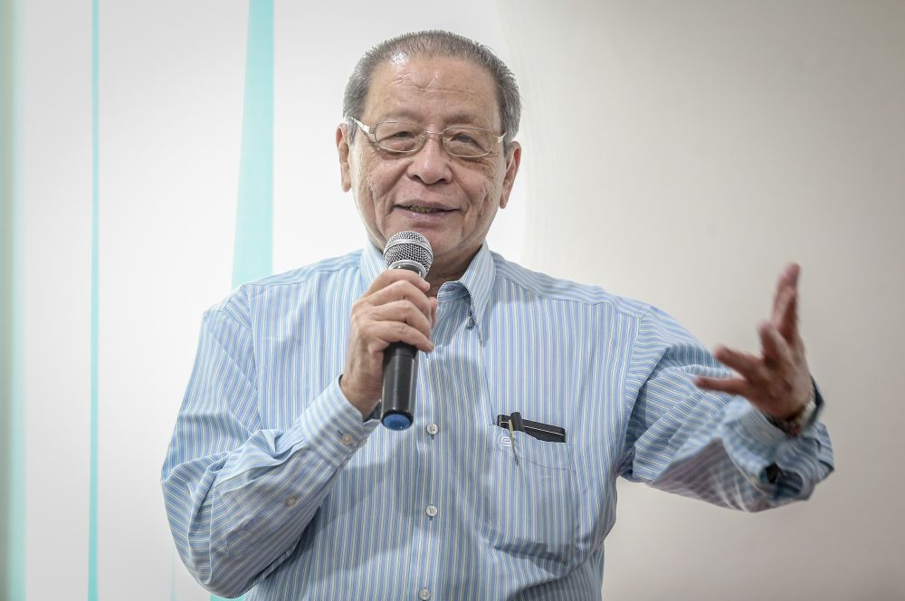DAP's Lim Kit Siang says Malaysia should learn from other countries that engage in dialogues to promote better understanding and tolerance of difference cultures among their population as an 'antidote' to hate and extremism. — Picture by Firdaus Latif